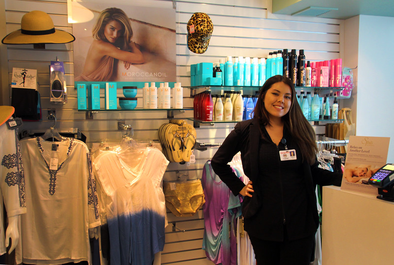 Temecula California, Pechanga Resort Casino, Spa Shop