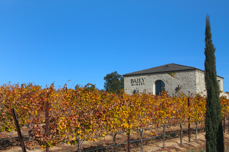 Temecula California, Baily Vineyards & Winery