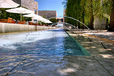 Getty Fountains May 19 2009