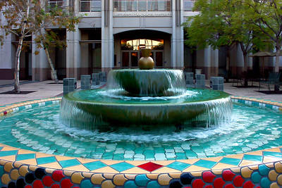 LA Water District Fountain
