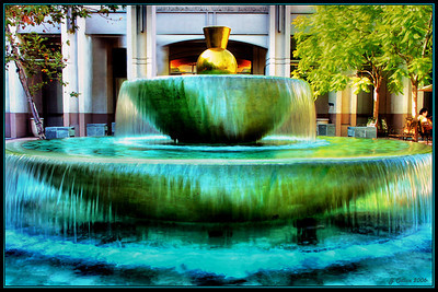 Metro Water District Fountain Los Angeles CA