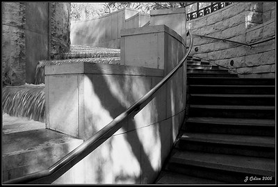 Union Station Waterfall#2 Los Angeles