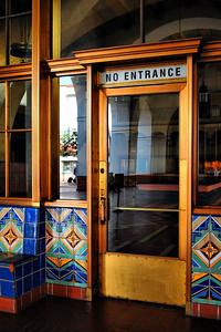No Entrance