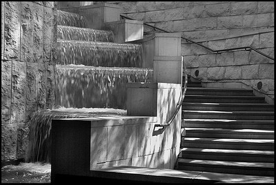 Union Station Waterfall#1 Los Angeles