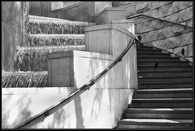Union Station Waterfall#3 Los Angeles