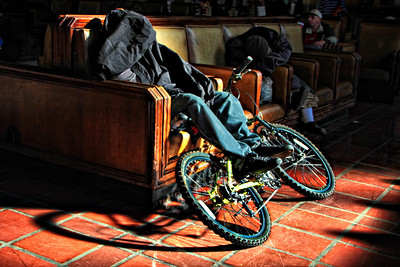 Chillin' @ Union Station  LA CA Dec 14 2012