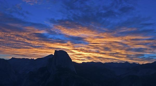Half Dome - Sunrise Glacier Point - Yosemite