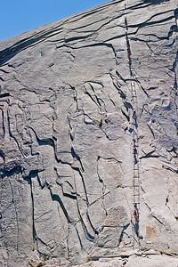 Cable Route - Half Dome - Yosemite