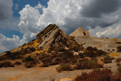 Vasquez Rocks and Clouds 9/13/11