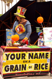 Your Name on a Grain of Rice Venice Beach CA