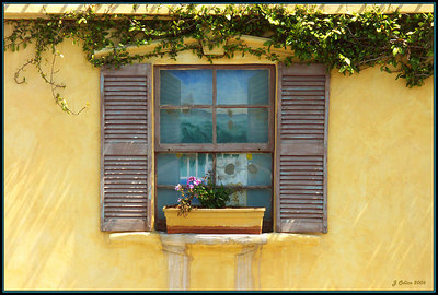 Pacific Avenue Window Venice Beach CA