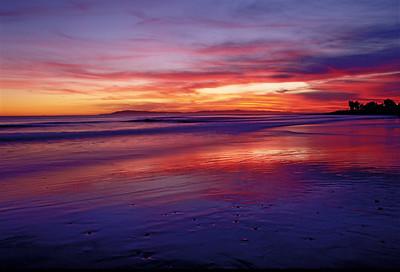 Surfers Point sunset, Ventura