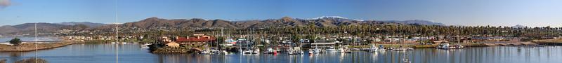 Ventura marina panorama