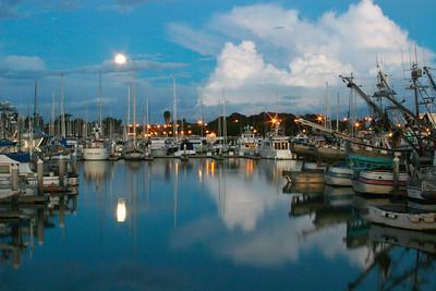 Moonrise, Ventura Marina