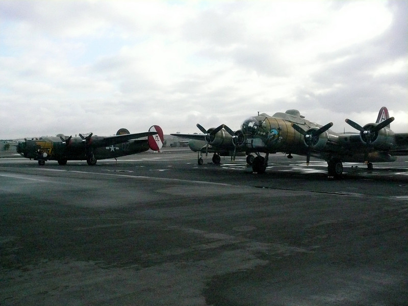 2007: B17 and B24 Liberator, Calsbad Airport (CLD). California