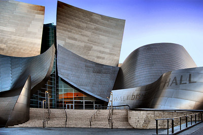 Twilight at the Disney Music Hall