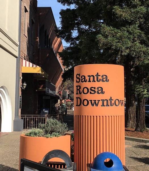 Downtown Santa Rosa