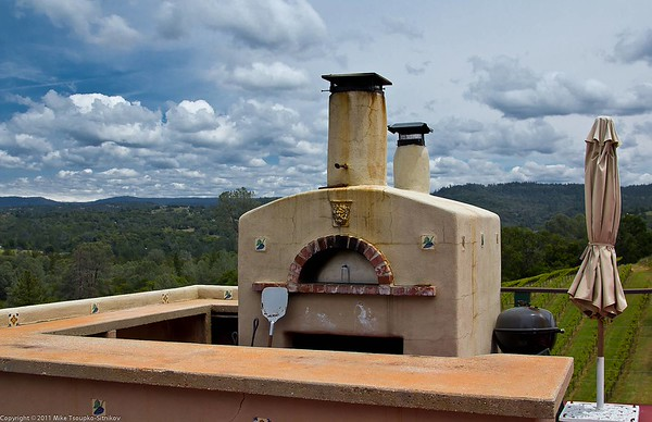 Fitzpatrick Winery - the winemaker's oven