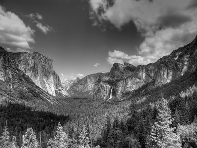 Valley View of Yosemite