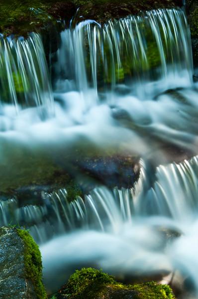 usa; california; yosemite national park; landscapes; waterfalls; fern spring; moss