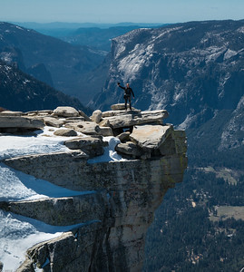Half Dome: the Diving Board