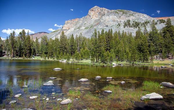 A Lake at Tioga Pass
