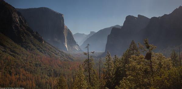 Yosemite Valley in September