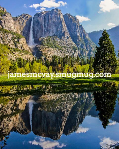 Yosemite Falls Springtime