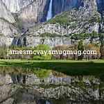 Yosemite Falls Spring Reflection