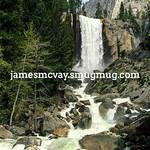 Vernal Falls Portrait