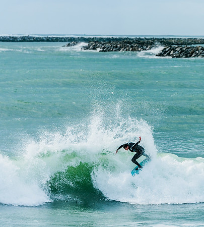 Surfers in Central Coast