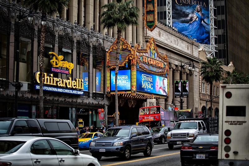 Hollywood Blvd, Hollywood, CA