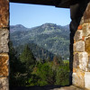 view from Castillo Di Amorosa, Castle Winery<br /> Calistoga, CA