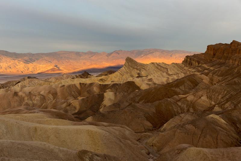Sunrise, Zabriskie Point, Death Valley National Park
