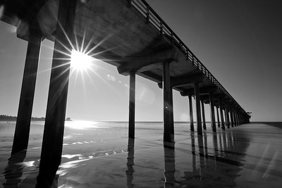 Scripps Pier Sunset 1