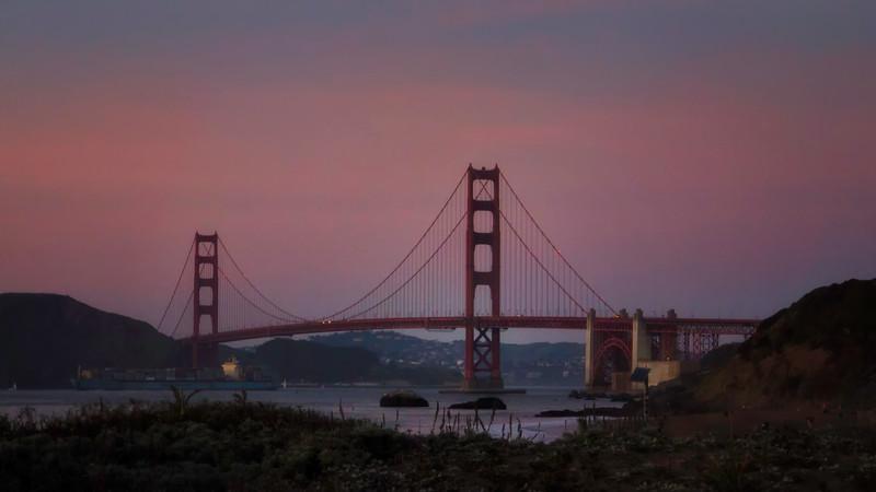 Golden Gate Bridge<br /> San Francisco, CA
