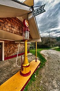 Bridgeport Pump: at California's Bridgeport State Park