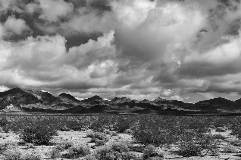 Clouds and Shadows, Marble Mountains, CA