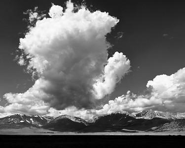 Thunderstorm and Shadows, Mono County, CA