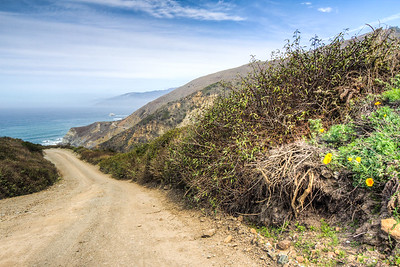 Los Burros Road, Big Sur, California