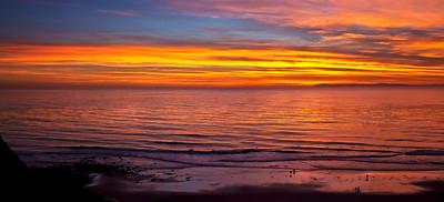 "Catalina Island. 30"" x 14"""