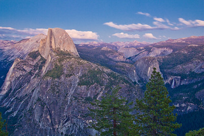 Glacier Point, Yosemite National Park, California, USA