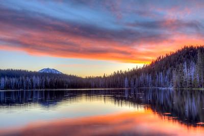 Lassen Peak Fire
