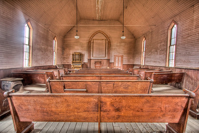 Praise Waiteth For Thee O God In Zion - Bodie, California, USA