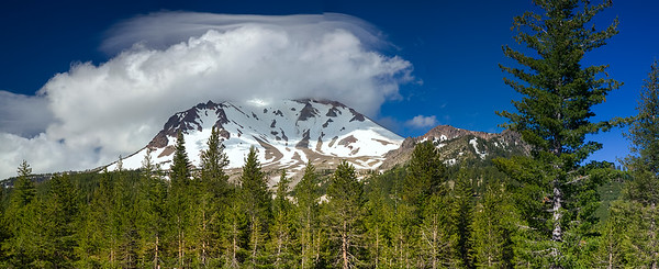 Cloud Capped Lassen Peak
