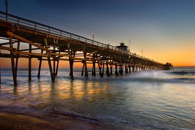 San Clemente Pier, San Clemente, California