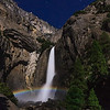 Moonbow, lower Yosemite Falls