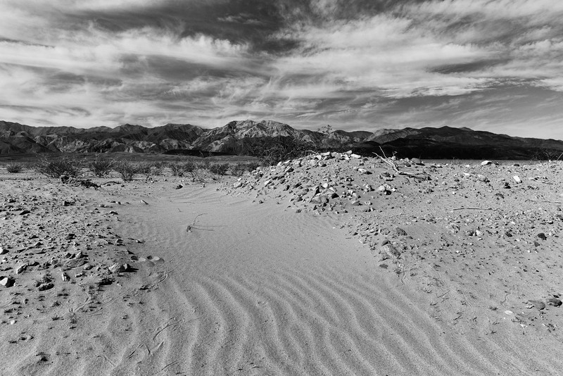 Argus Range and Dunes, Death Valley National Park