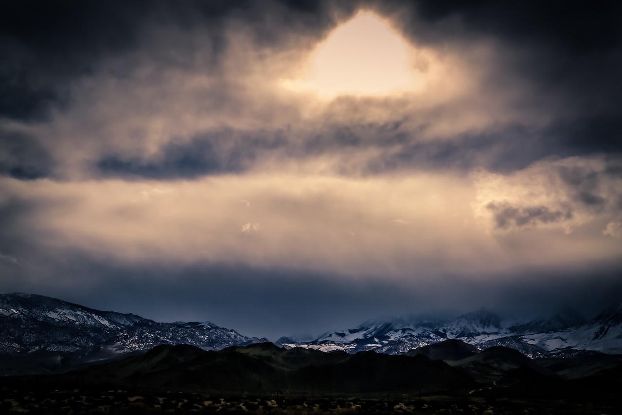 Hazy Sierras