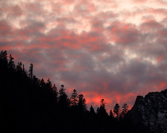 Autumn Sunset, Eldorado County, CA